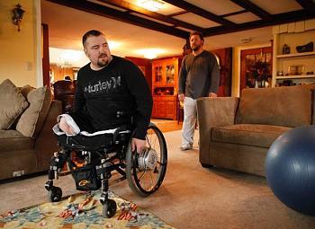 Iraq War amputee killed in fall-hackemer.jpg