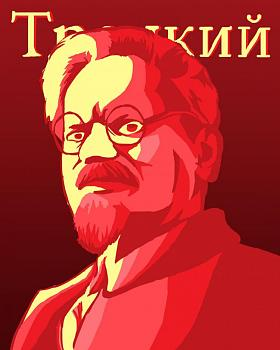 Eating Dinner with History-portrait_of_trotsky_by_alexchalland-d3fqvez.jpg