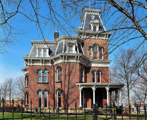 Akron ohio hower house photo picture image for Building a home in ohio