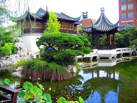 Classical Chinese Garden Portland Oregon