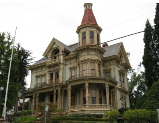 Astoria, Oregon: Flavel House Museum photo, picture, image