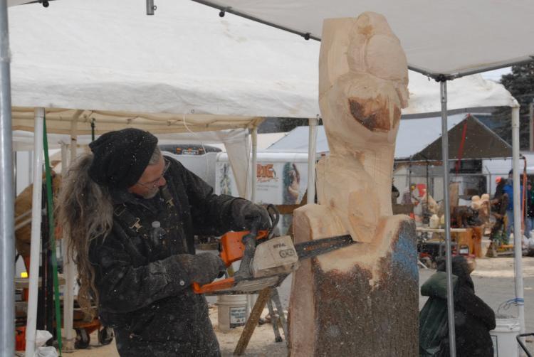Ridgway pennsylvania international chainsaw carvers