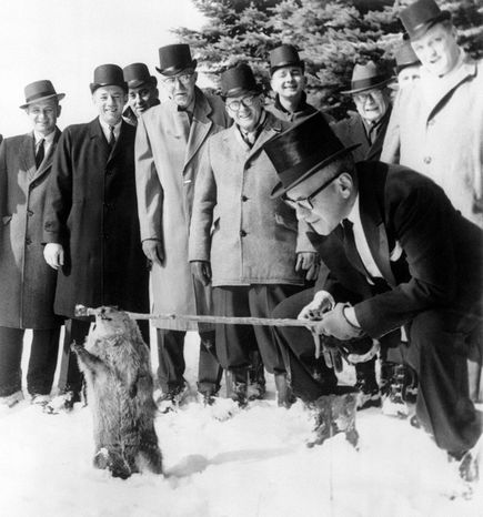 Image result for First Groundhog Day 1887 images