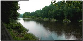 Just shooting down or along the highway as I traveled ... scenery, roadways, etc.!-greenbrier-river-ronceverte-wv.jpg