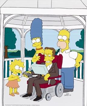 """Stephen Hawking: 'There is no heaven""""-hawking-simpsons.jpg"""