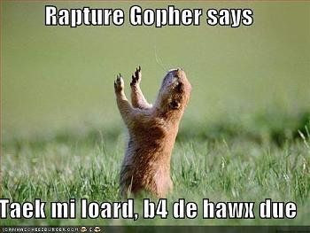 Words of Warning: Time?s Up-rapturegopher-765480.jpg
