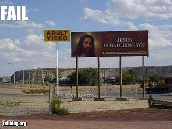 Words of Warning: Time?s Up-epic-fail-photos-jesus-watching-fail.jpg