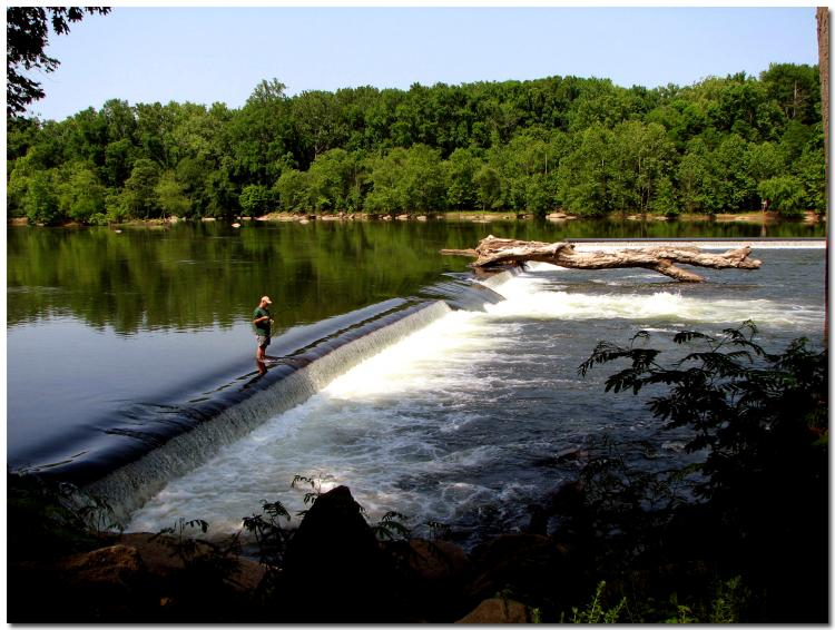 Cool Places To See In Richmond Fishing Smallmouth B Z Dam