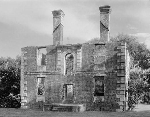 Brick House Ruins Edisto Island