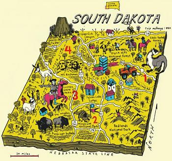 Books featuring South Dakota-south-dakota-map.jpg