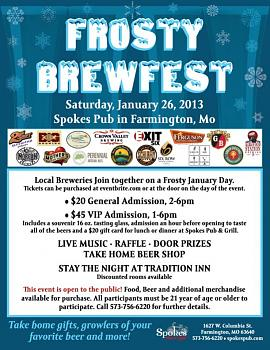 Frosty BrewFest on January 26th at Spokes Pub and Grill-frostybrewfest2013.jpg