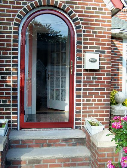 Charmant Best Place To Replace A Rounded Top Storm Door 100_8384 422x560