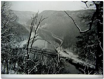 """Do you know how """"railroads"""" are built...this is amazing-two-steam-engines-new-river-gorge-circa-1950s-%3D-2592.jpg"""