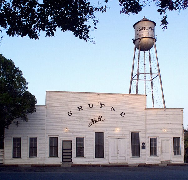 Gruene Hall New Braunfels Texas