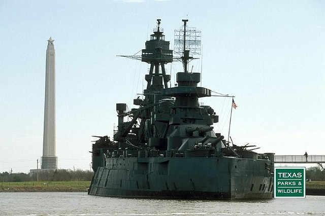 Battleship texas state historic site la porte texas for Texas la porte