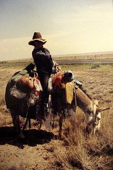 Texas Stereotypes-lady-burro-abode-aboard.jpg