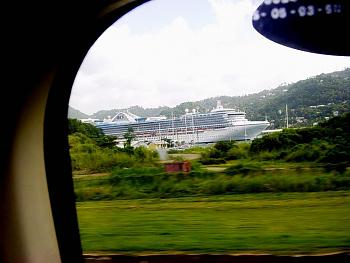 """How about """"Cruise Ships """"--""""Oasis of the Seas"""" --World's Largest Cruise Ship!-cruise-ship-docked-pointe-seraphine-castries-st.-lucia-west-indies-alongside-vigie-airp.jpg"""