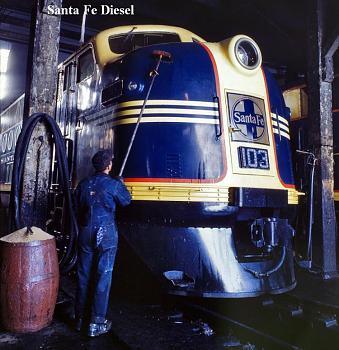 Amtrak railroad travel.-santa-fe-diesel.jpg