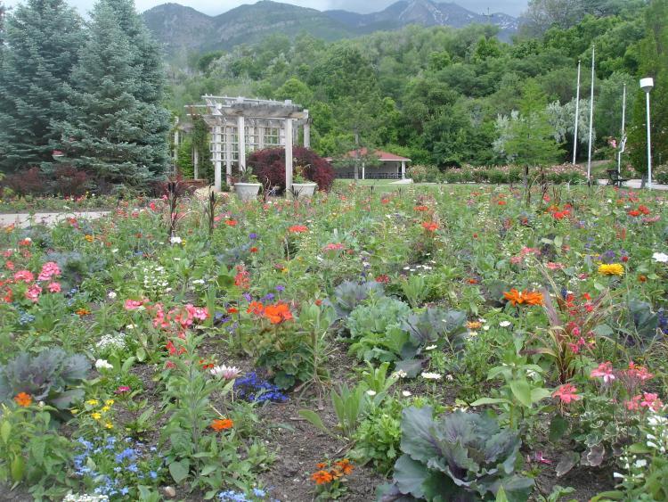Superieur Ogden, Utah: Ogden Botanical Garden Photo, Picture, Image