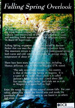 Waterfalls and overlooks in SW VA-falling-spring-sign.jpg