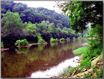 Puzzle Picture-great-greenbrier-river-young-lady-fishing-riffles-below-whitcomb-railroad-bri.jpg