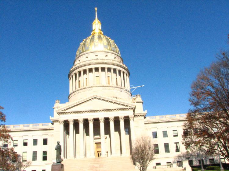 The State Capitol Building Charleston West Virginia Usa West - Va which state in usa