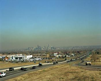 Which Has A Worse Smog Problem? L.A. or Wyoming?-smoggydenver.jpg