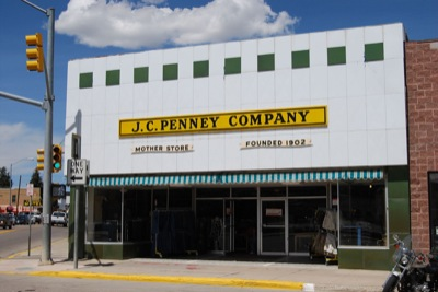 Lincoln >> Kemmerer, Wyoming: Golden Rule Store- First JCPenney Store