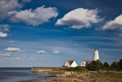Lighthouse At Old Saybrook