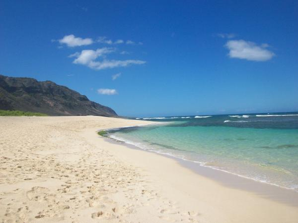Oahu North Shore -western Side Beach