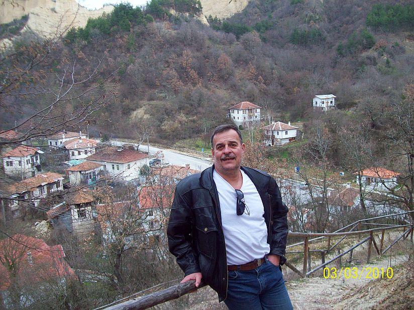 Towards Rojensky Monastery Near Melnik Town