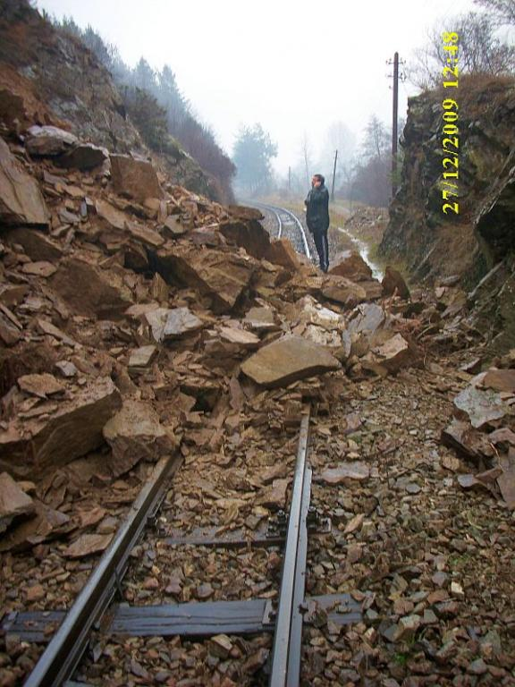 The Narrow-gage Train In Rodopy Mountains