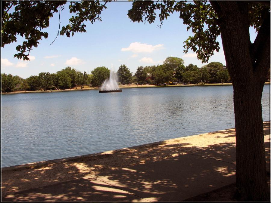 Byrd Park Lake, South Boulevard, Richmondvirginia