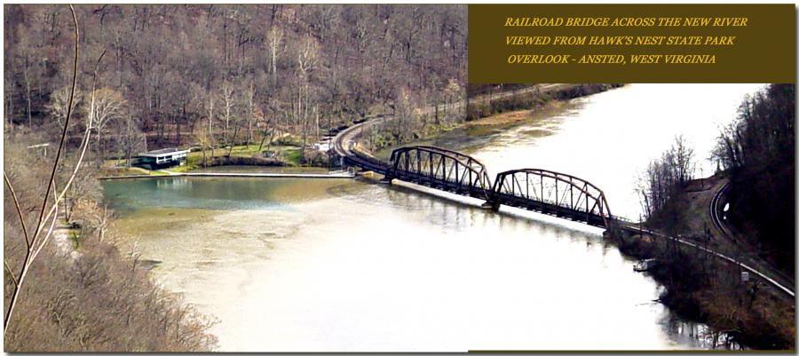 New River Gorge Looking Upriver
