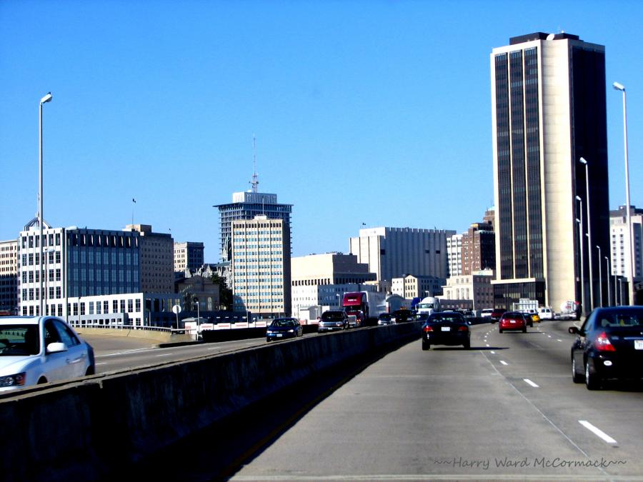 Richmond, Virginia - I-95 Approaching From South