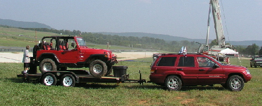 Tj On Trailer At Cj04 Sm