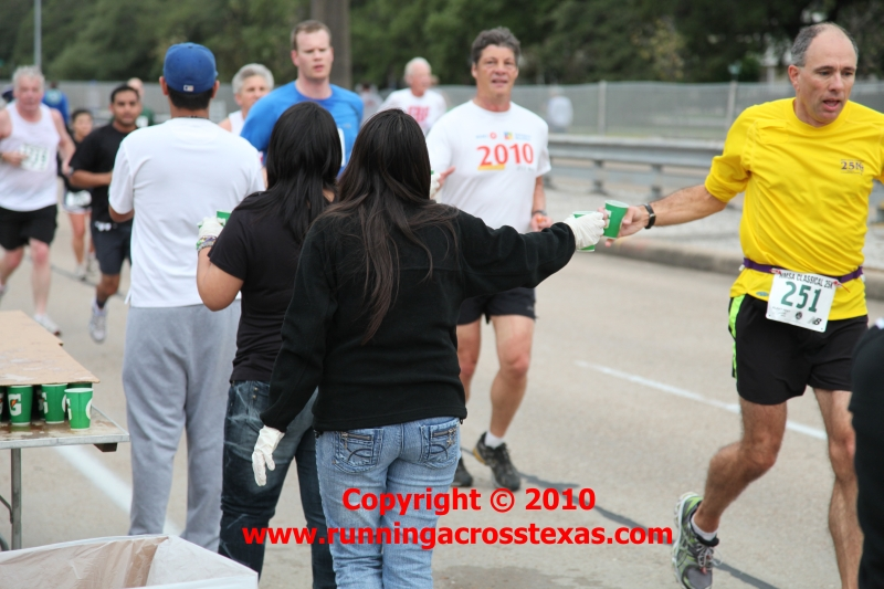 Water Table At The Houston 2010 Classical 25k