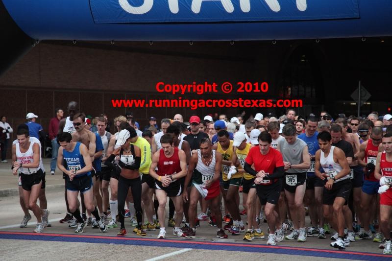 Houston 2010 Classical 25k Starting Line