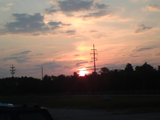 Sun Rise Over Donaldson Center Airpark