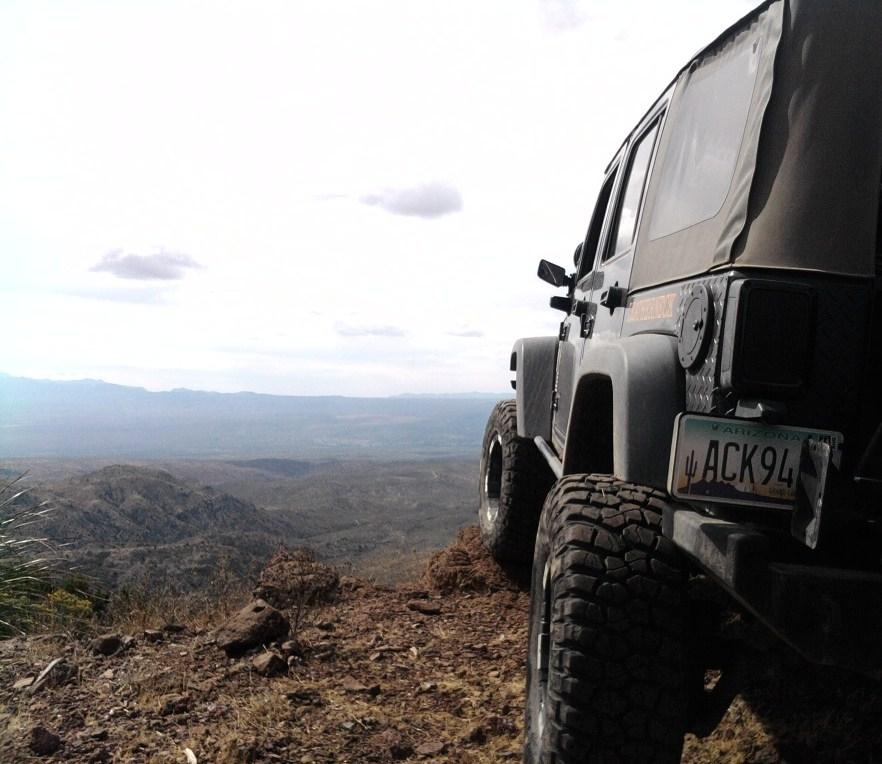 Overlooking Mammoth Az