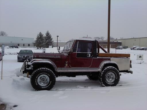 Snow Jeep