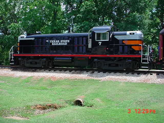Texas Railroad In Rusk