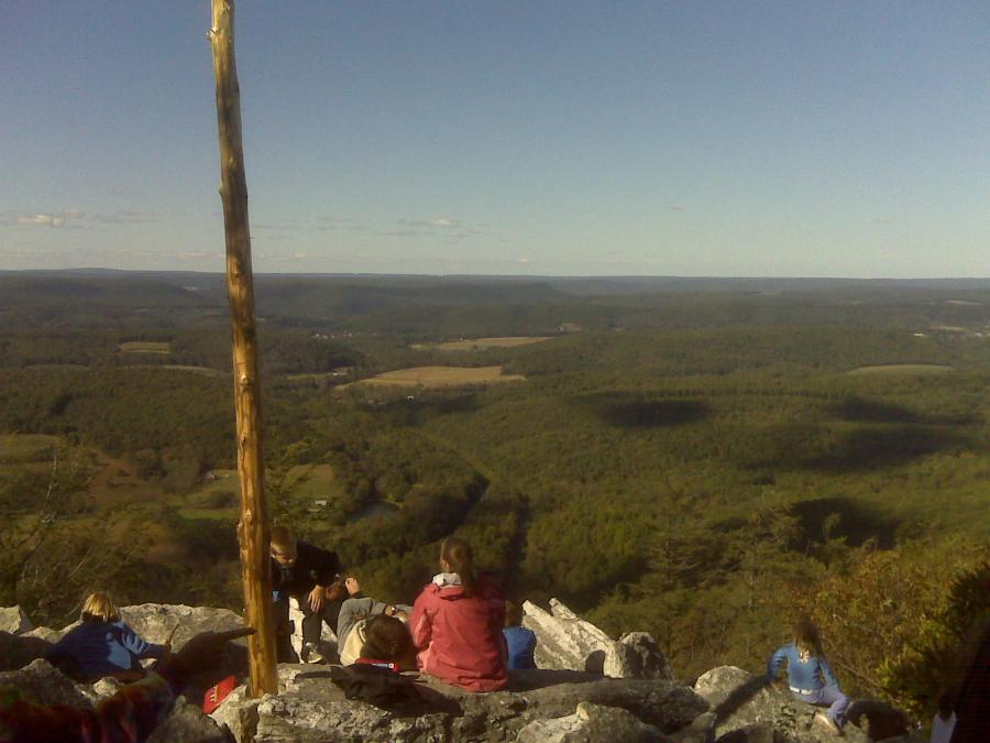 View From Top Of Hawk Mountain