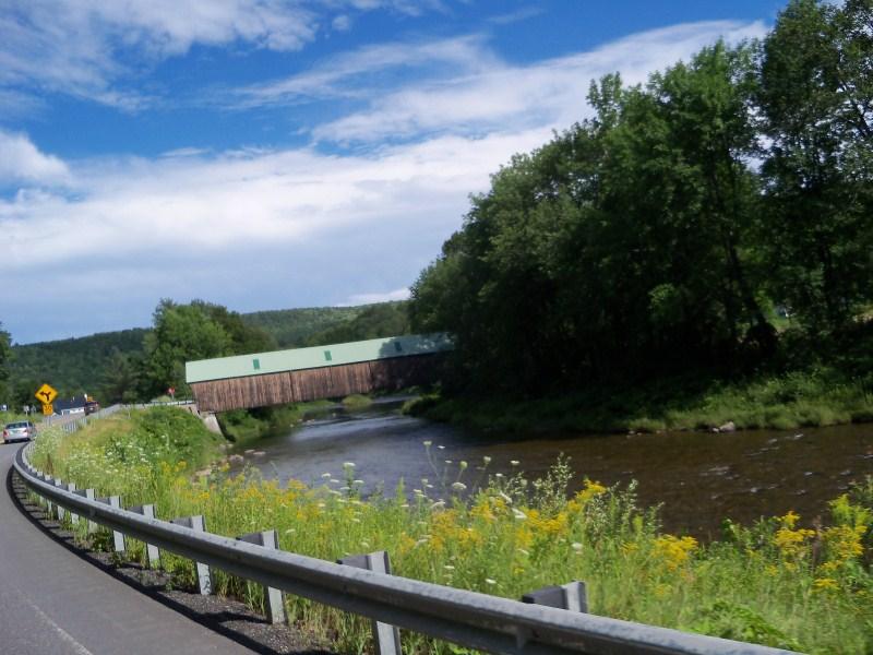 Covered Bridge Close To Woodstock, Vt