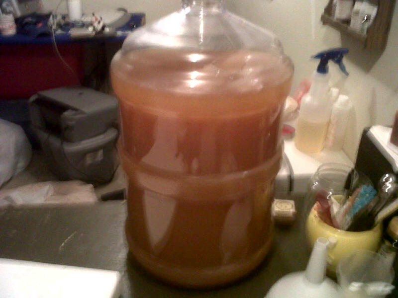 Pumpkin Ale Secondary2