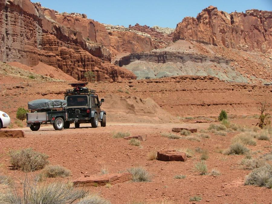 Jeep Camping Around The Usa