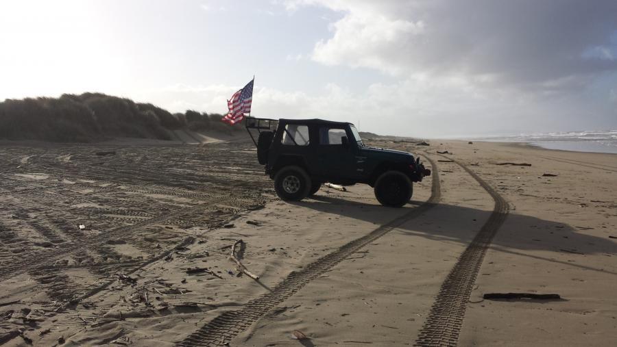 Oregon Dunes Beach