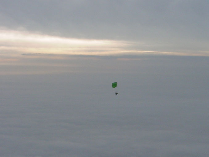 Flying In Fog