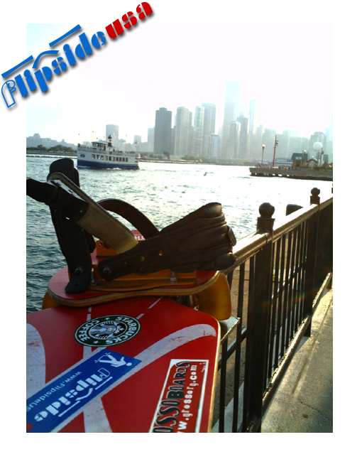 Snakeboard At Navy Pier