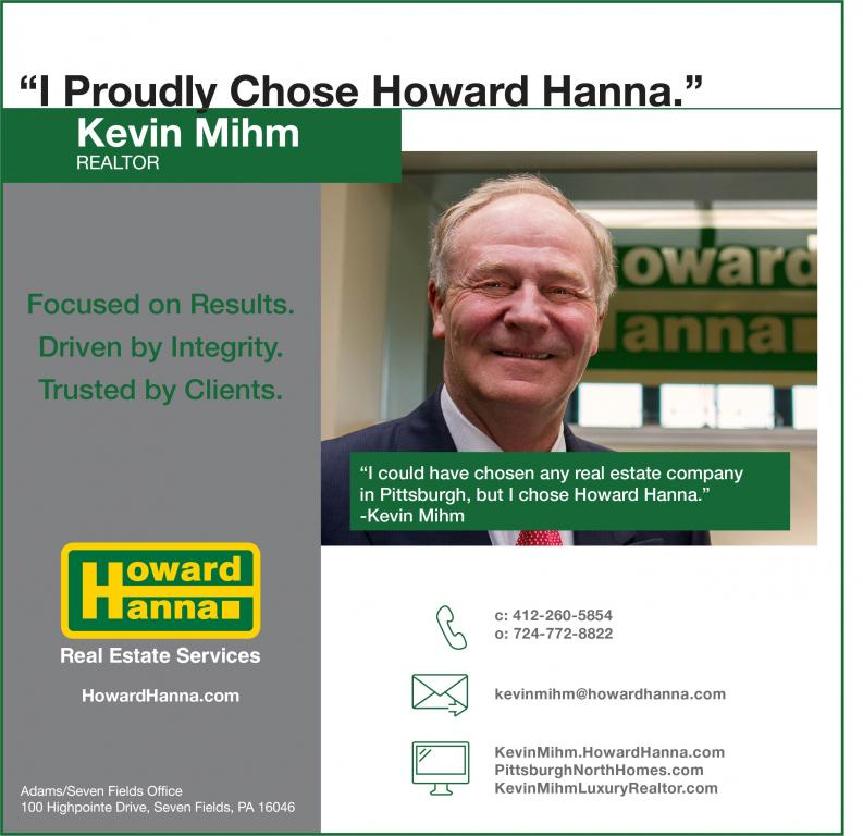 Kevin Mihm And Howard Hanna. Focused On Results, Driven By Integrity, Trusted By Clients.